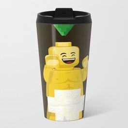 I want to brick free ! Metal Travel Mug