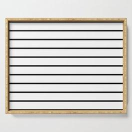 Minimalist Stripes Serving Tray