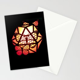 Burning Butterfly Lantern  Stationery Cards