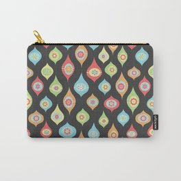 Mod Ornaments Dark Carry-All Pouch