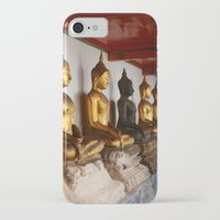 buddah iPhone & iPod Cases featuring Golden Buddah by Avery Mitchell Photos