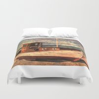 lonely Duvet Covers featuring Lonely by Fernando Vieira