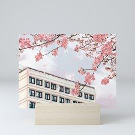 Japan school Mini Art Print