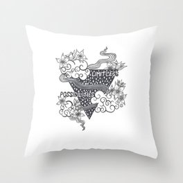 Limitless Possibilities Throw Pillow
