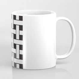 Plane Weave Seamless Pattern. Coffee Mug