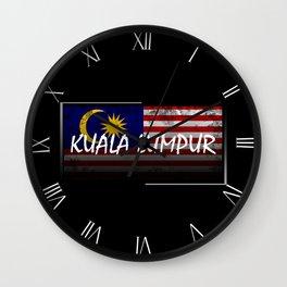 Kuala Lumpur Wall Clock