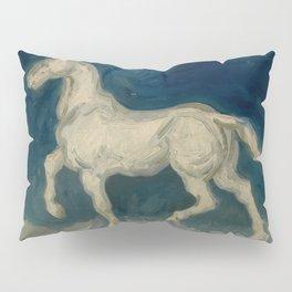 """Vincent van Gogh """"Plaster Statuette of a Horse"""" Pillow Sham"""