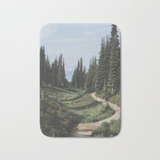Mountain Trail Bath Mat