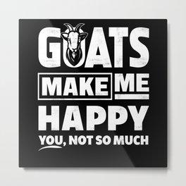 Goat Farm Metal Print