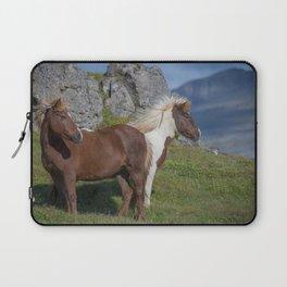 Icelandic Horses 1 Laptop Sleeve