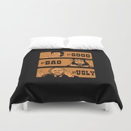 The good, the bad and the ugly in little China Duvet Cover