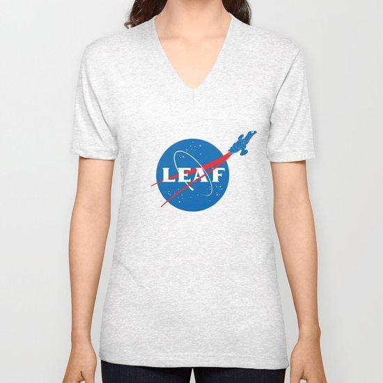 LEAF Unisex V-Neck