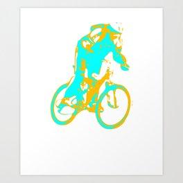 BMX Racing, BMX Apparel, BMX Gift Art Print