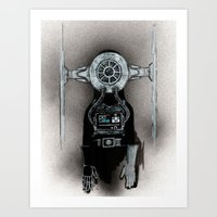 What's So Great About Star Wars (Coffin Jockey) Art Print
