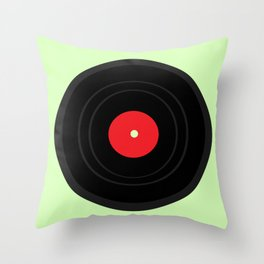 Record Throw Pillow