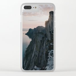 The Cliff - Landscape and Nature Photography Clear iPhone Case