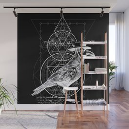 The Raven dark Wall Mural