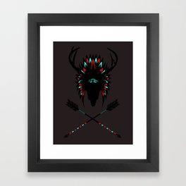Indiskt rådjur Framed Art Print