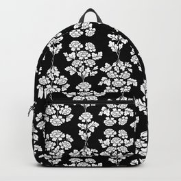 Black roses bouquet Backpack