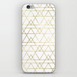 Modern Gold iPhone Skin