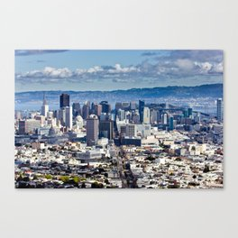 The City  Canvas Print