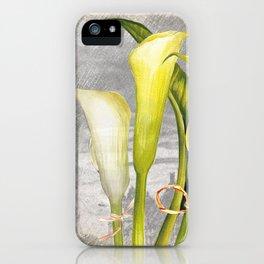 Macro Flower #8 iPhone Case