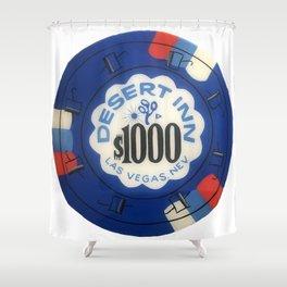Desert Inn - Casino Chip Series Shower Curtain