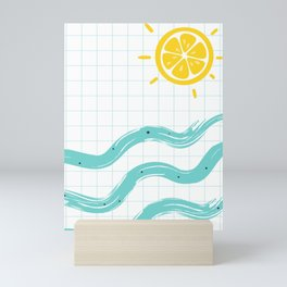 Summer Time Art Mini Art Print