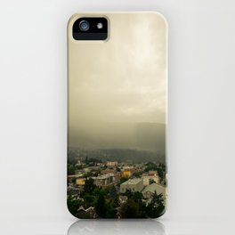 Storm over Nelson iPhone Case