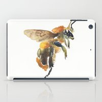 bee iPad Cases featuring Bee by coconuttowers