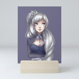 Weiss Schnee Mini Art Print