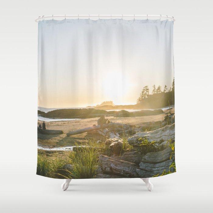 Tofino British Columbia Shower Curtain