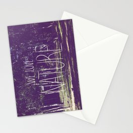 We love Nature Stationery Cards