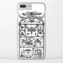 Cabinet of Obsession Clear iPhone Case