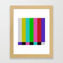 Gl2tch Framed Art Print