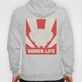 Retro Japanese Style RAMEN LIFE Poster Hoody