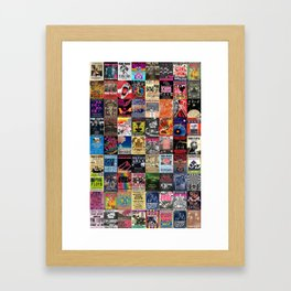 The Wall Concert Posters Framed Art Print