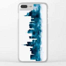 Frankfurt Skyline Clear iPhone Case