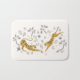Tiger Dive Bath Mat