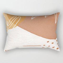 clay & sand Rectangular Pillow