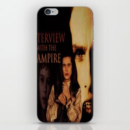 Vampires Interview iPhone Skin