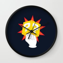Power to the Plumbers Wall Clock