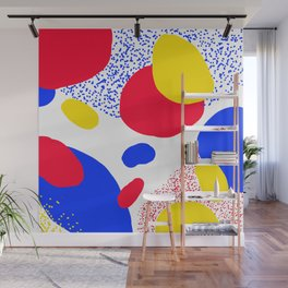Primary Dots Wall Mural