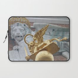 Lions on St Mark's Square Laptop Sleeve