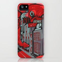 Squid City iPhone Case