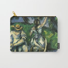 """Paul Cezanne """"The fruit pickers"""" Carry-All Pouch"""