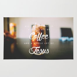 A whole lot of Jesus Rug