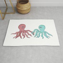 In Love Octopi Long T-Shirt  Rug