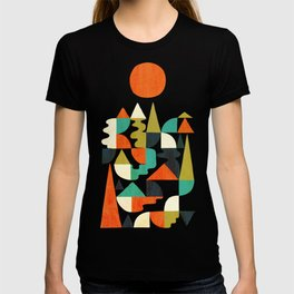 Mountains Hills and Rivers T-shirt