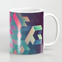 spires Mugs featuring isyhyrtt dyymyndd spyyre by Spires